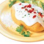 Baked Potatoes ao Requeijão